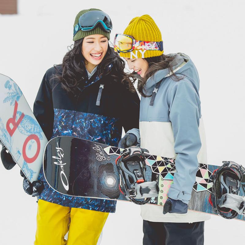 2018新款滑雪服套装女日本43DEGREES户外登山透气保暖滑雪运动服