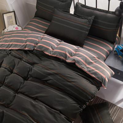 纯棉全棉涤棉床上用品四件套件床单被套家用宿舍学生成人单人双人哪款好