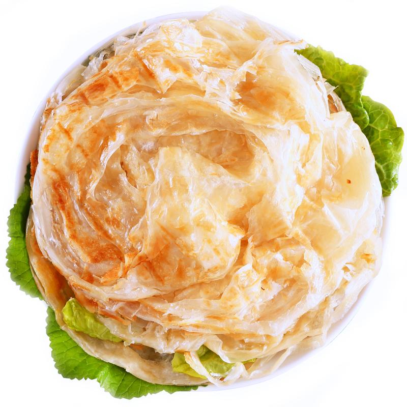 麦乐享台湾风味手抓饼20片家庭装面饼皮手撕家用原味早餐手抓饼皮