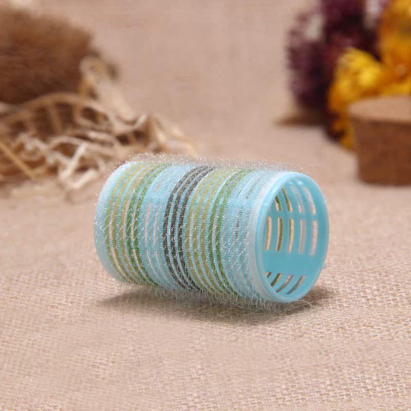 免烫魔术卷发球 不伤头发圆柱型卷发筒卷发器 自粘美发卷