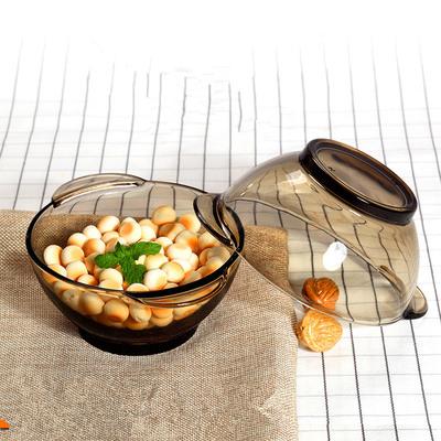玻璃碗 微波炉 沙拉