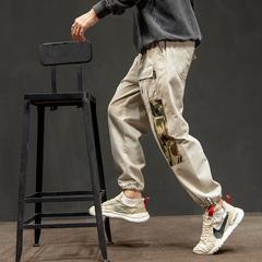 日系男士小脚裤