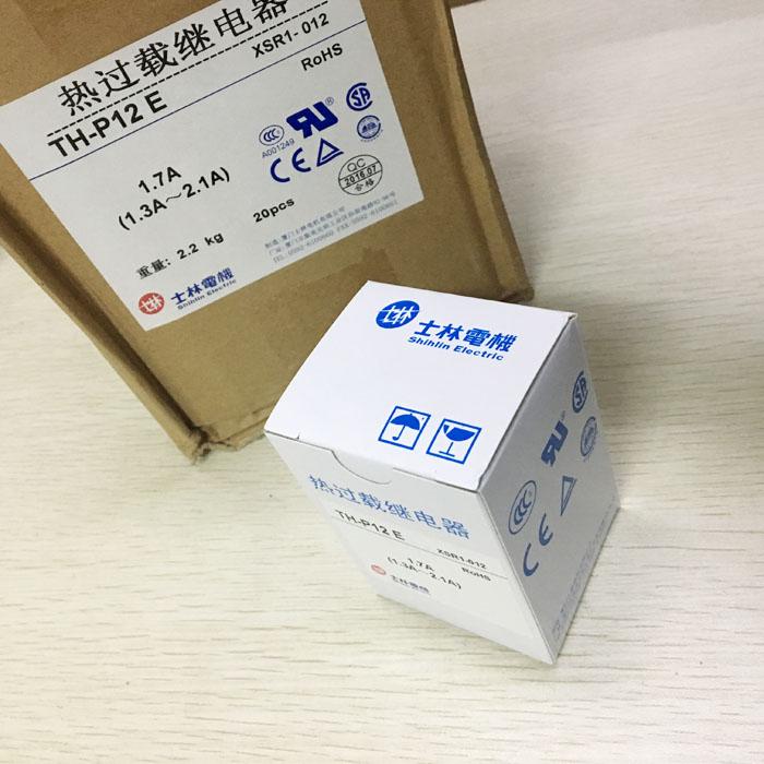 正品士林TH-P12E th-p12热继电器过载保护可调5-8A 6.5A热保护器