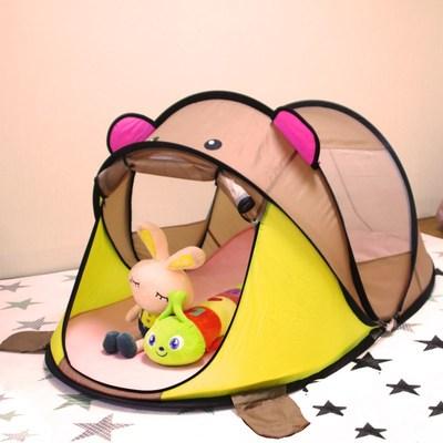 床上球池星星蚊帐上下床床幔公主房海洋球折叠儿童帐篷游戏屋梦幻哪里便宜