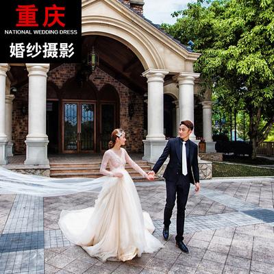 重庆婚纱摄影重庆婚纱照团购 时尚婚纱照旅拍婚纱摄影 重庆金夫人