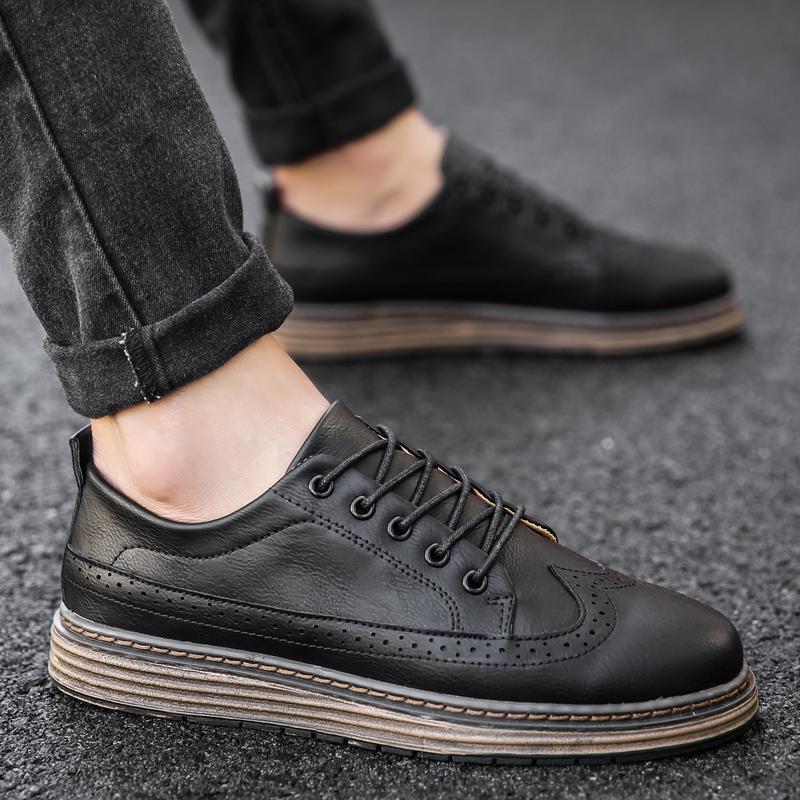 布洛克英倫風男鞋