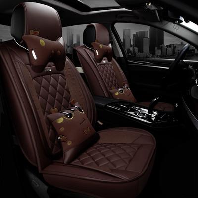 汽车坐垫适用别克君威2017款 28T 尊贵型专用四季卡通全包座套