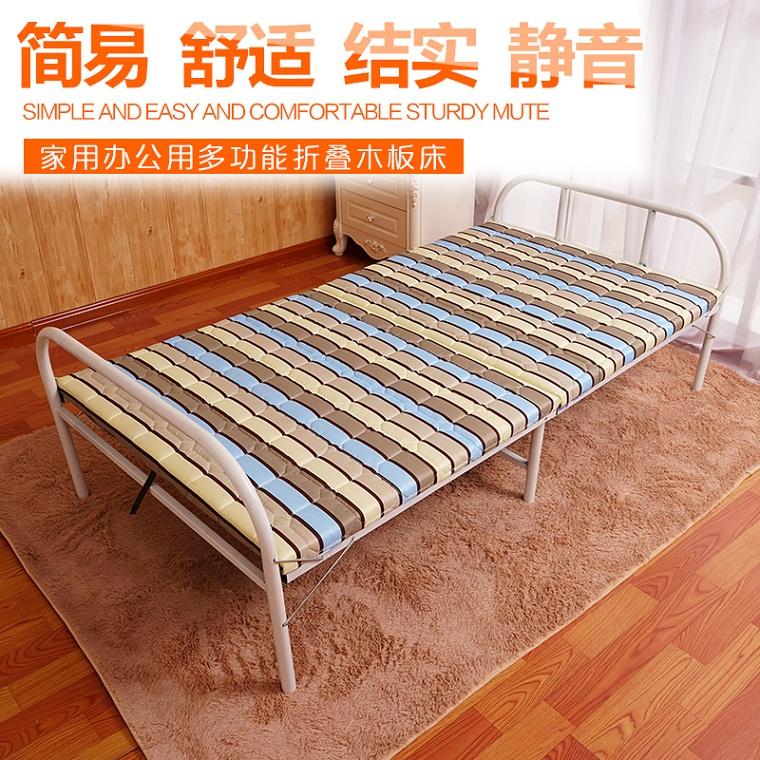 加厚双人折叠床