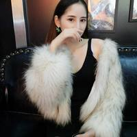 2018 winter new mink suede fox fur plush coat female Korean version of the short scorpion fur fur coat