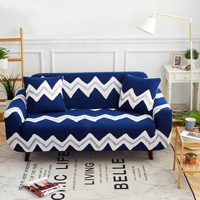 组合通用布艺罩中式清新加厚弹力美式万能沙发套全包客厅双人组合