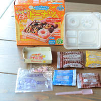 Japan imported food play Kanebo edible DIY children's handmade mini food to play happy kitchen homemade donuts