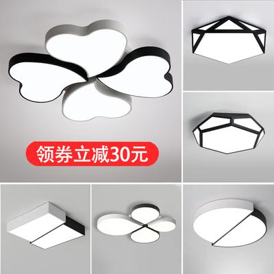 主卧室灯温馨浪漫简约现代吸顶灯大气创意个性led小客厅灯具特价新款推荐