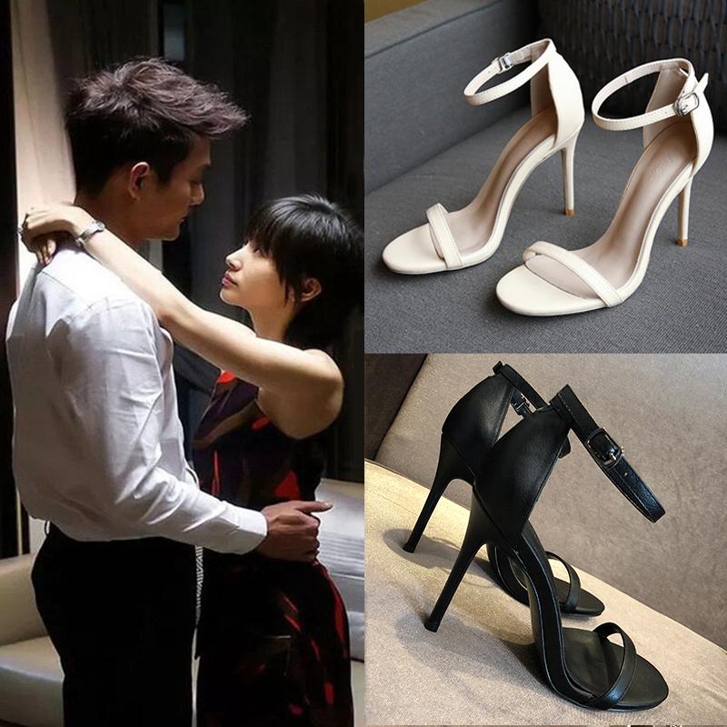 性感细跟女凉鞋