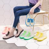 果冻透明可爱成人短筒雨鞋女防水鞋防滑胶鞋套鞋水靴韩国时尚雨靴