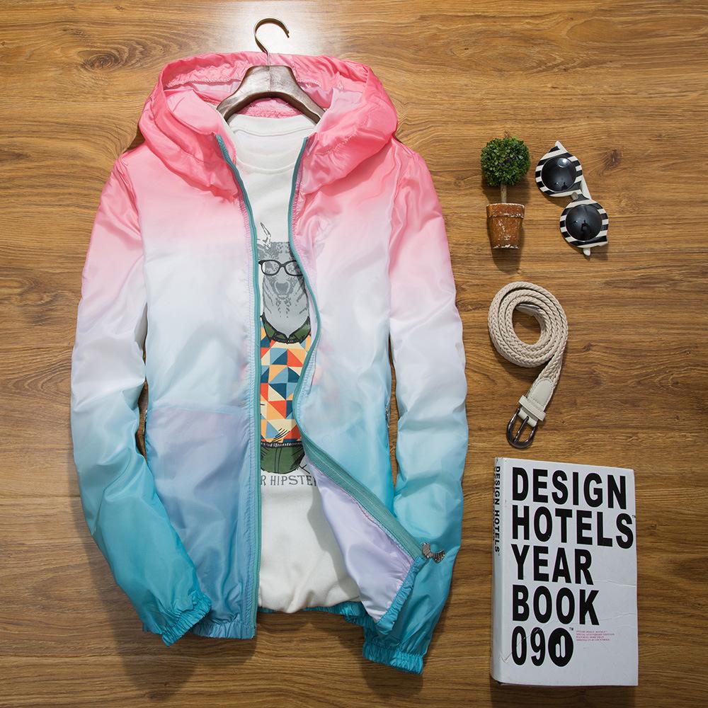 少女防紫外线防晒衣