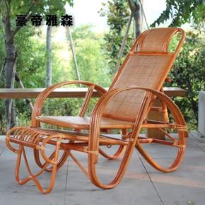 午睡午休藤椅折叠椅老人真家用办公