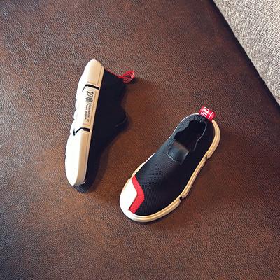 2018夏季新款男童针织运动鞋儿童网鞋中大童透气韩版女童休闲鞋子