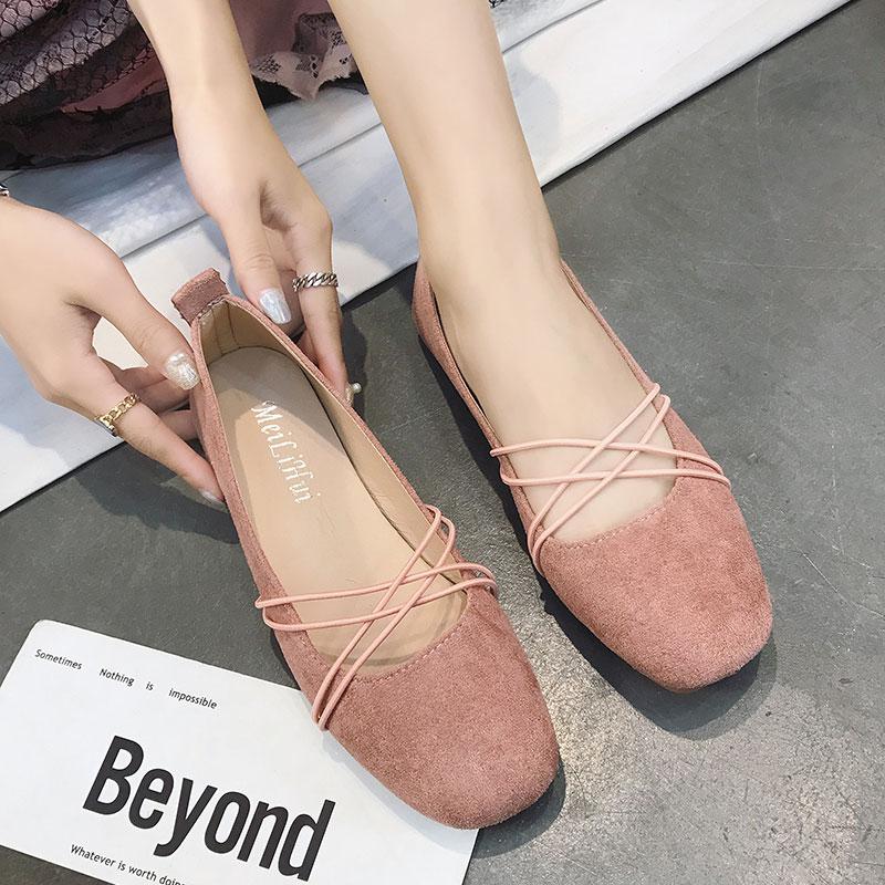 韩版芭蕾鞋