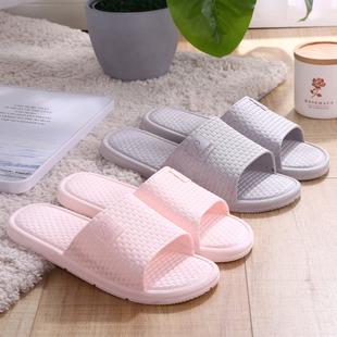 日式拖鞋室内家用软底浴室洗澡防滑情侣外穿凉拖鞋女夏季男家居鞋