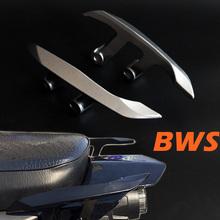 城市铁?#26032;?#34382;BWS电动踏板摩托车改装件铝合金后扶手拉手货架尾翼