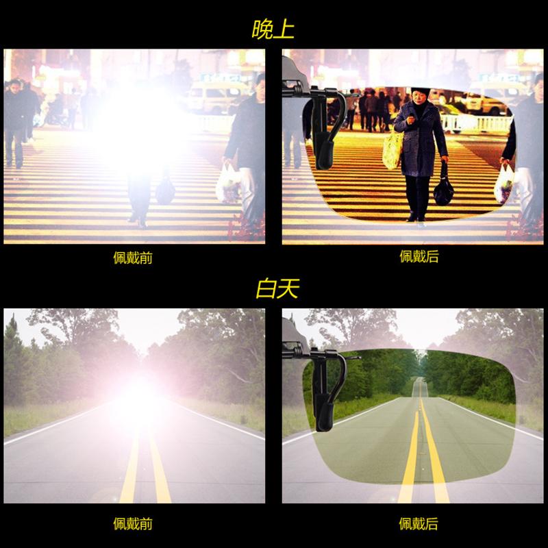 钓鱼眼睛夜视太阳镜男司机驾驶眼镜开车男士墨镜日夜两用偏光变色