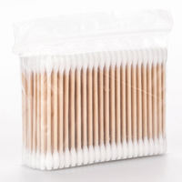 MINISO famous products 800 sticks cotton swab portable equipment 掏 ear makeup remover clean cotton swabs