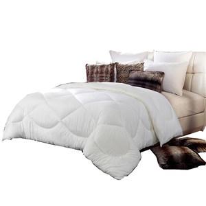 梦洁家纺双人被加厚冬天被子全棉被芯床上用品舒柔纯棉纤维冬被