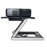 Siying CINEPB210 portable projector table legs folded lifting bracket nuts Epson NEC Optoma projector Lethal cannon holder table carrier base