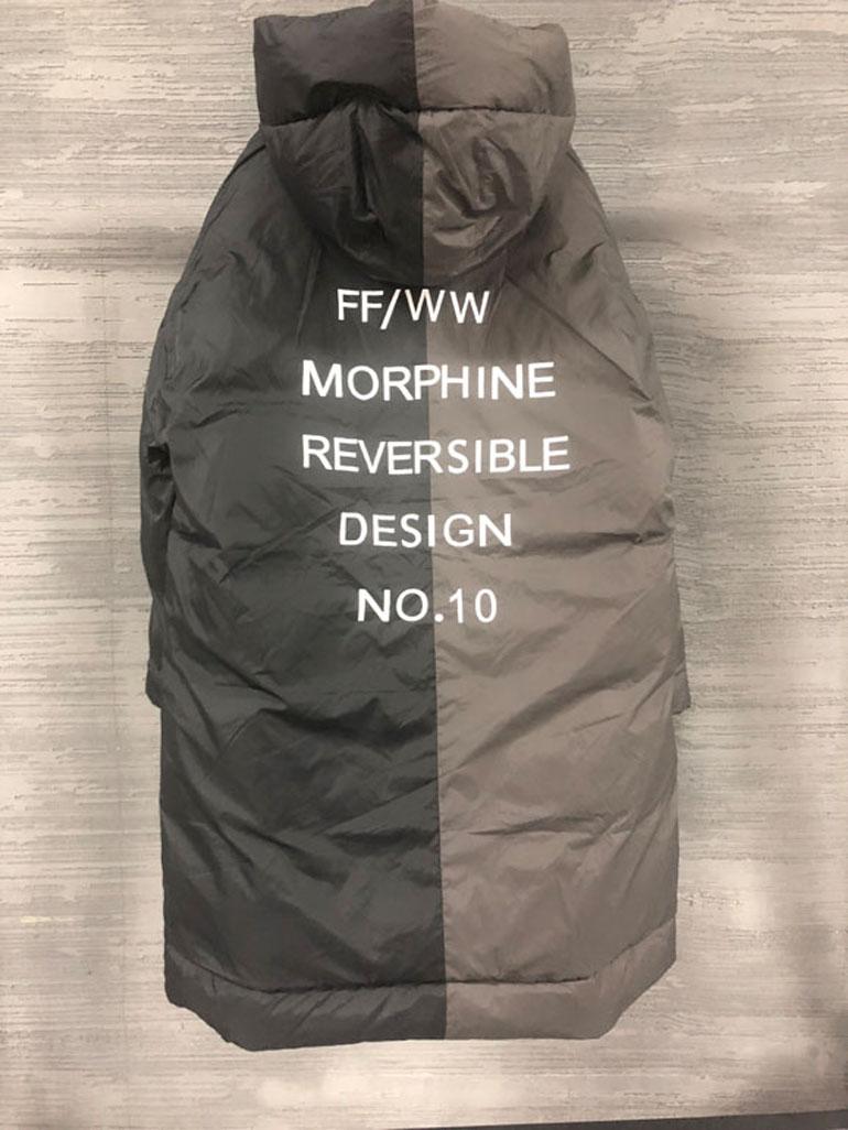 韩国代购男装东大门俩面穿中长款羽绒服外套18新款保暖潮牌实拍