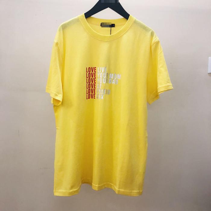 韩国东大门男装代购实拍个性字母印花短袖T恤亲肤舒适质感潮上衣