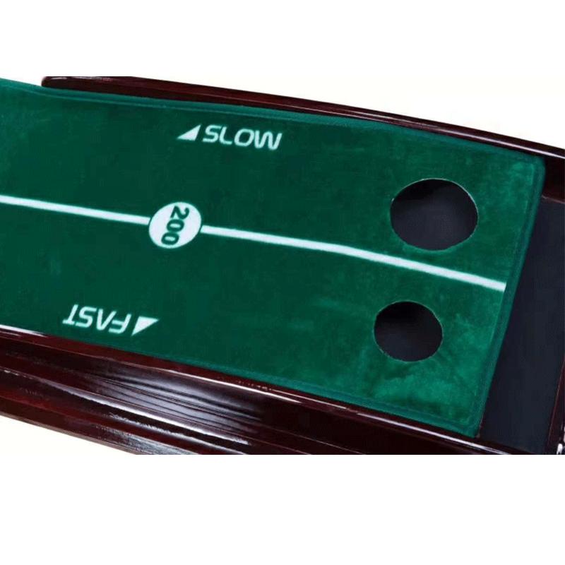 高尔夫推杆练习器 ONLY GOLF 韩国进口天鹅绒 实木纹推杆练习器