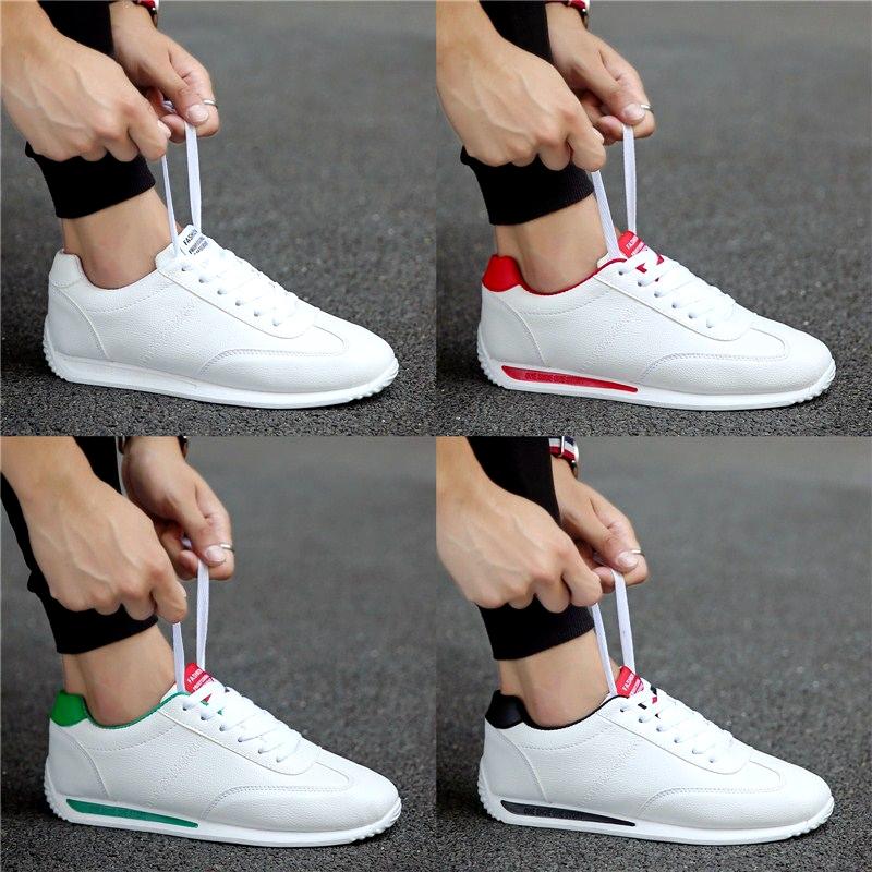 夏季韩版潮流运动休闲男鞋网红阿甘潮鞋学生百搭帆布板鞋快手红人