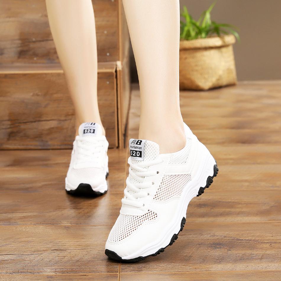 豪迈特步网面女新款百搭小白鞋女鞋休闲网鞋跑步运夏季透气运动鞋
