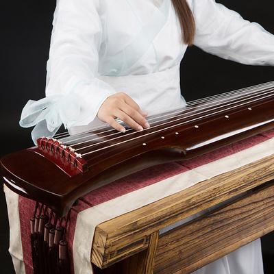 桐木泮水古琴伏羲式仲尼式大师推荐初学者专业练习七弦琴道具模型