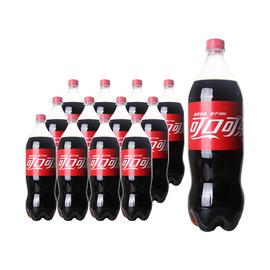 可口可乐 碳酸饮料汽水 1.25L*12瓶整箱大可乐 沪苏锡杭3箱包邮图片
