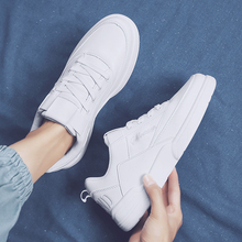 2019 new spring men's shoes Korean version of the trend of wild shoes casual shoes men's tide shoes canvas white shoes small white shoes