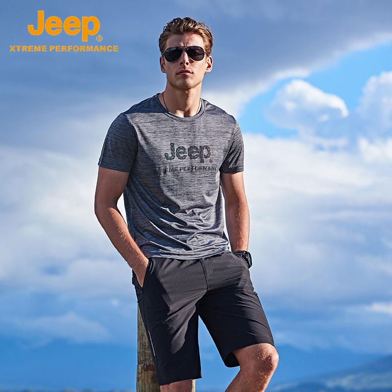 jeep圆领t恤