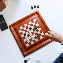 康誉儿童便携折叠国际象棋棋盘棋墩西洋棋chess儿童益智玩具