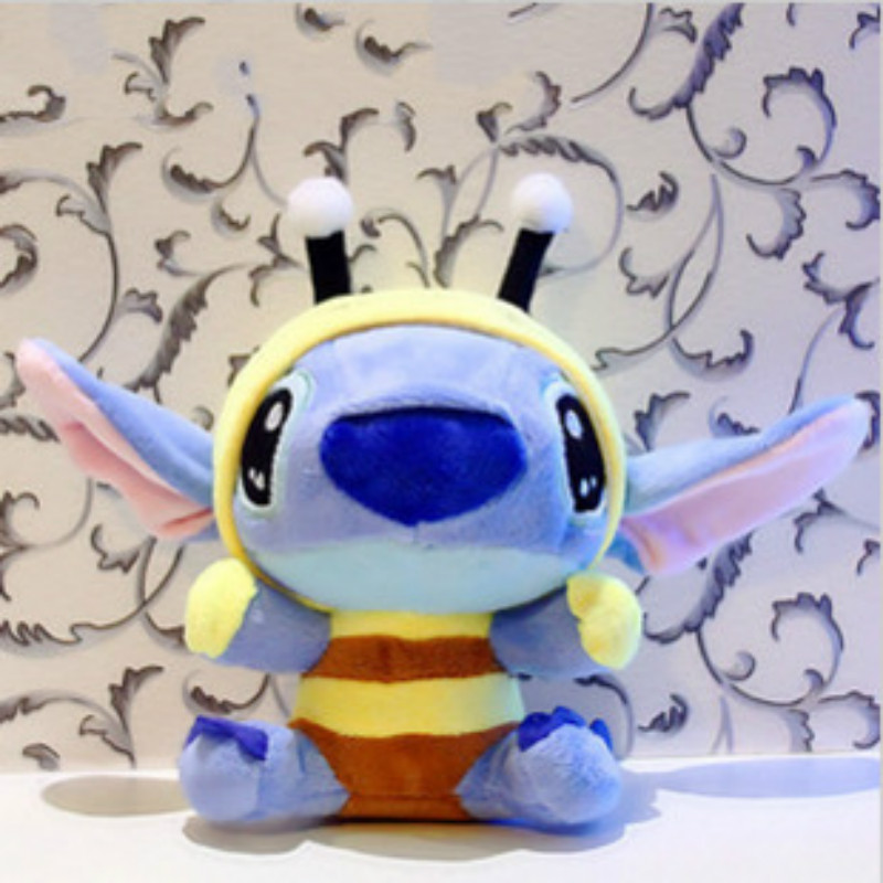 lilo and stitch toy bee stitch cosplay 10cm 20cm tv stuffed
