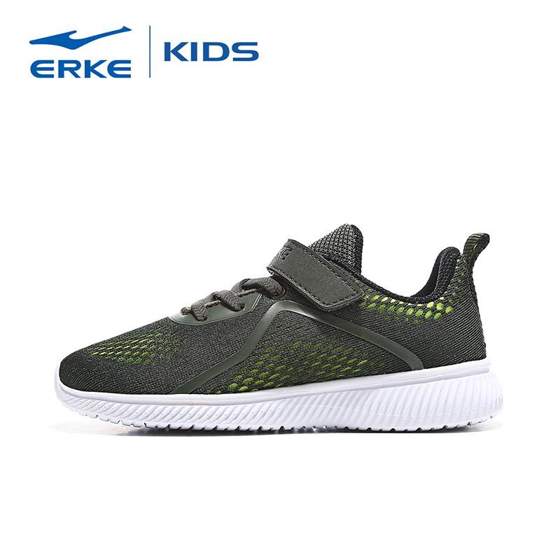 鸿星尔克男童鞋子网面小童跑步鞋夏季2019新款儿童透气轻便运动鞋