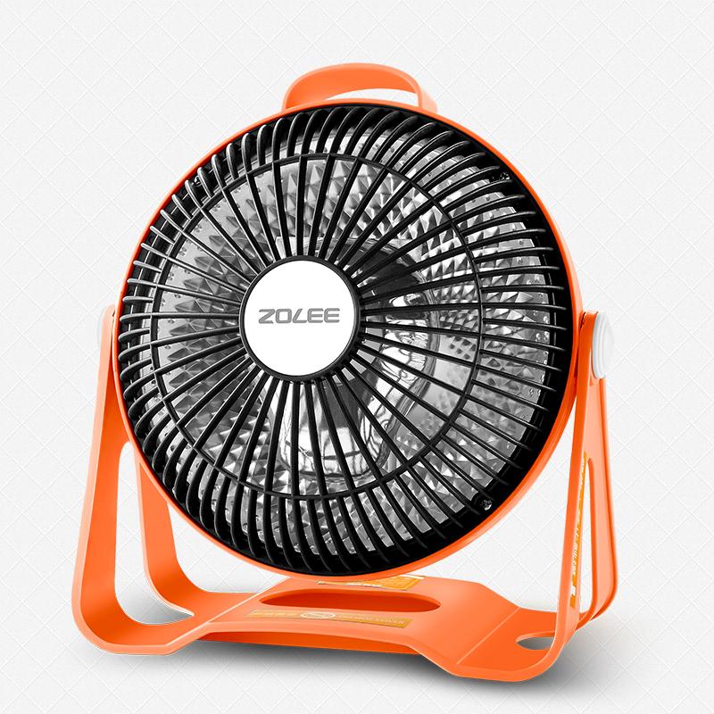 中联小太阳取暖器迷你台式电热扇学生电暖气烤火炉桌面节能暖风机