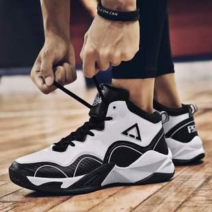 抖音推薦春季男士高幫潮鞋運動內增高厚底籃球38小碼36男鞋子37防