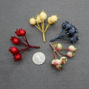 Diy Sen Department Bridal Wreath Material Simulation Foam Berry Blueberry Fruit Red California Fruit Hat Decoration Material