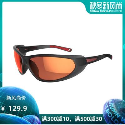 迪卡侬官方旗舰店运动眼镜男偏光款4号镜片包裹轻盈防护 QUOP