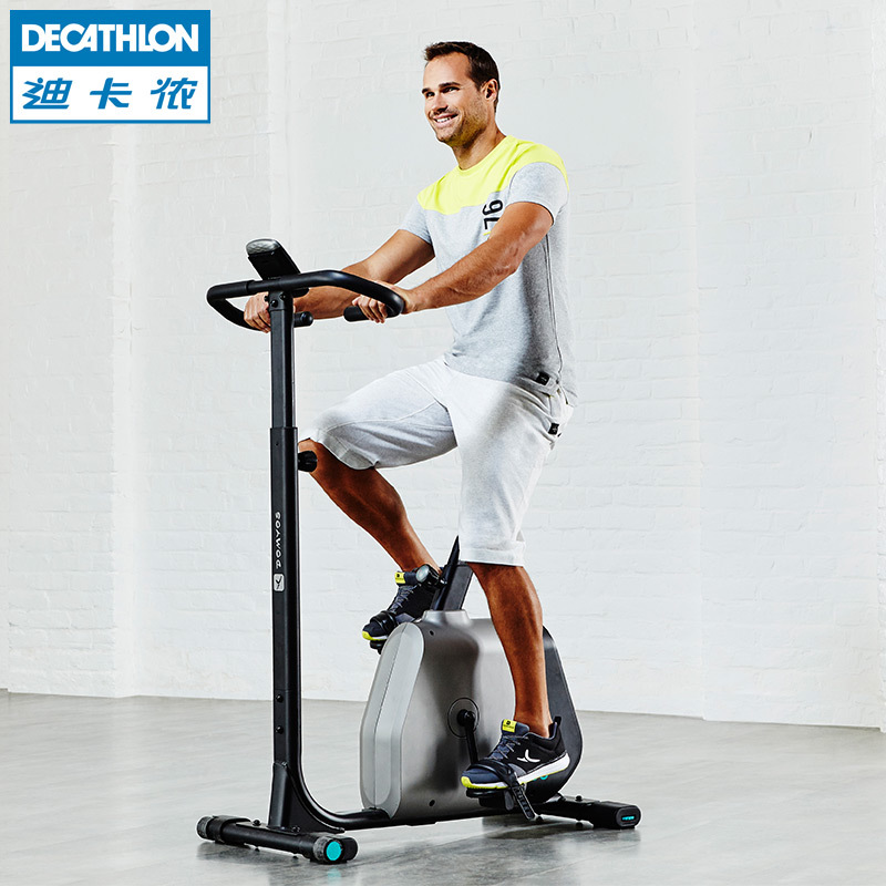 迪卡侬健身自行车