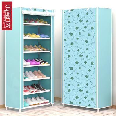 乐活时光简易学生宿舍鞋架多层钢管组装门后小鞋架经济型收纳鞋柜最新最全资讯