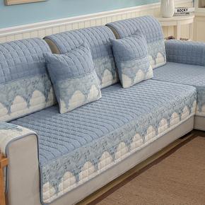 新款沙发垫布艺四季通用防滑夏季沙发巾客厅真皮沙发套子简约现代