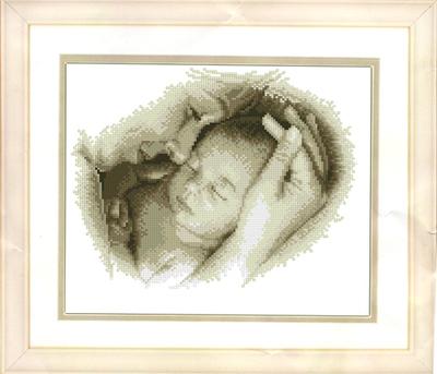 小小渔十字绣套件E429【母爱】人物新款印花