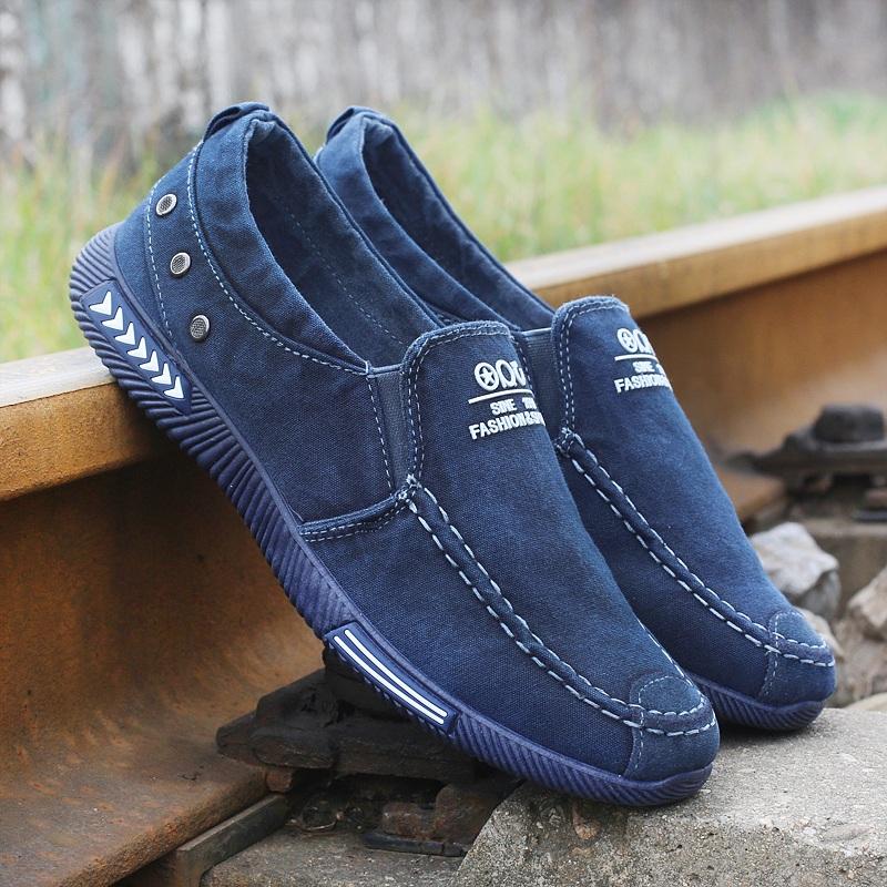新款水洗帆布鞋