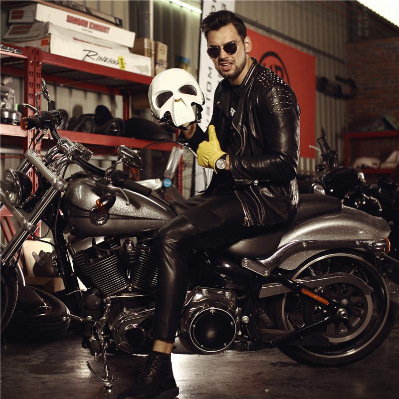 哈雷骷髅摩托车